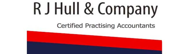 RJ Hull Accountatnts sponsor logo
